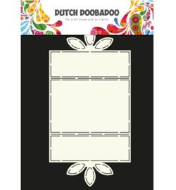 470.713.620 Dutch DooBaDoo Dutch Card Art Flower