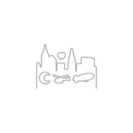 649345 Hero Arts Frame Cut Dies City Heroscape