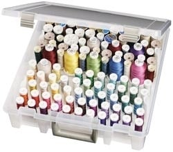 263162 9002AB ArtBin Super Satchel Box W/Removable Thread Trays