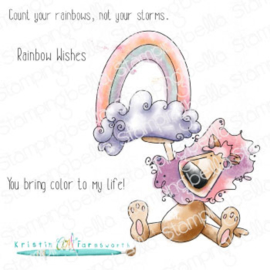654006 Stamping Bella Cling Stamps Rainbow Randy