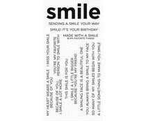 CS-444 My Favorite Things Smile Maker Clear Stamps