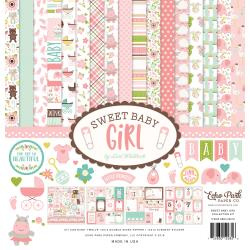 "329695 Echo Park Collection Kit Sweet Baby Girl 12""X12"""