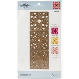 S41044 Spellbinders Etched Dies Kaleidoscope Tile