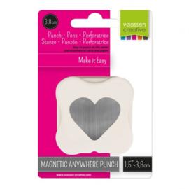 21450-001 Vaessen Creative magnetische pons hart 38mm