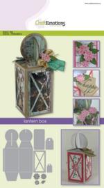 115633/1505 CraftEmotions Die lantern box Card A5 box