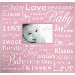 "234351 Baby Expression Post Bound Album 12""X12"" Pink"