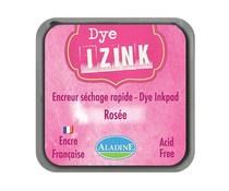 19256 Aladine Inkpad Izink Dye Rose Rosee