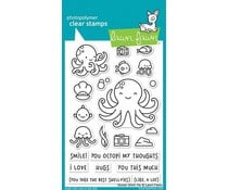 LF2329 Lawn Fawn Ocean Shell-fie Clear Stamps