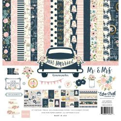 "337754 Echo Park Collection Kit Just Married 12""X12"""