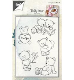 6410/0460 Stempel Teddyberen