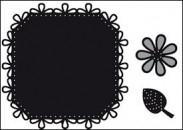CR1249 Marianne Design Craftables Square & Flower