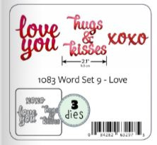 KBR1083 Karen Burniston Dies Word Set 9 Love