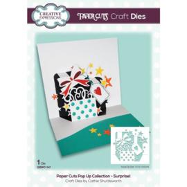 CEDPC1147 Creative Expressions Craft die paper cuts Verrassing!