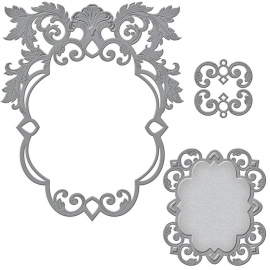 S6053 Spellbinders Nestabilities Dies Labels 51 Decorative Accent