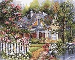 465989 Victorian Garden