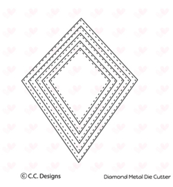 CCC38 C.C.Designs Metal Dies Diamonds