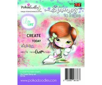 PD7708 Polkadoodles Ula Create Clear Stamps