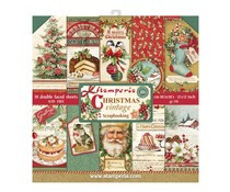 SBBL45 Stamperia Christmas Vintage 12x12 Inch Paper Pack