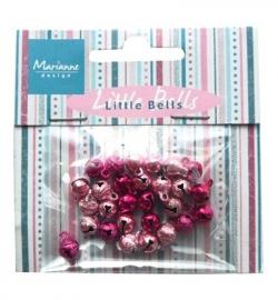 JU0939 Belletjes Light pink & dark pink