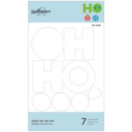 S3402 Spellbinders Shapeabilities Die D-Lites Jolly Ho Ho Ho