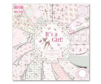 "FEPAD078 First Edition 12""x12"" Pad - It's a Girl"