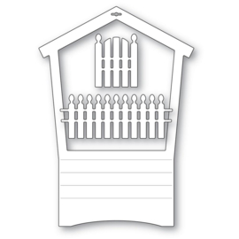 MB94601 Memory Box Dies House Frame