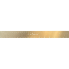 661111 We R Memory Keepers Foil Quill Magnetic Ruler