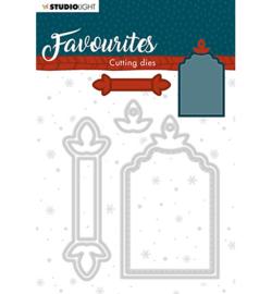 STENCILSL335 Studio Light Cutting Die Winter's Favourites nr.335