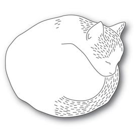 633296 Poppystamps Metal Dies Whittle Cutie Cat