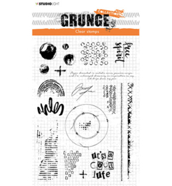 STAMPSL503 Studio Light Clear Stamp Grunge Collection nr.503