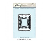 SBS-094 Spellbinders Rectangle Radiance Stamps