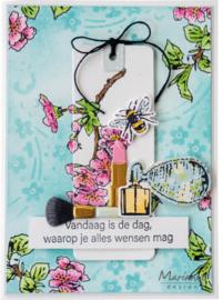 TC0882 Marianne Design Tiny's Perfume Stamp & die Set