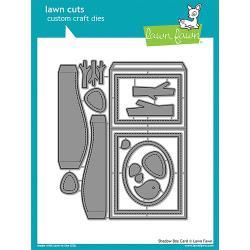 LF1486 Lawn Cuts Custom Craft Dies Shadow Box Card
