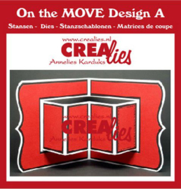 CLMOVE01 Crealies On The Move Design A