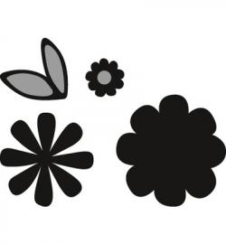 CR1358 Craftables Flower set: Sweet