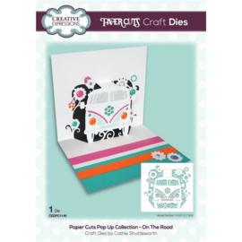 CEDPC1149 Creative Expressions Craft die paper cuts Op de weg