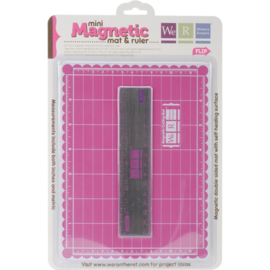 129436 Mini Magnetic Cutting Mat & Ruler Set