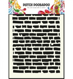 470715002 Dutch Doobadoo - Mask Art Stencils  Bricks