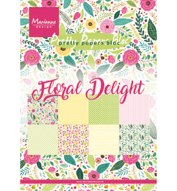 PK9161 Pretty Papers Blocks Floral Delight A5