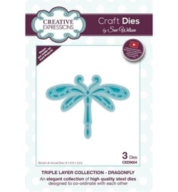 CED9504 Triple Layer Collection Dragonfly