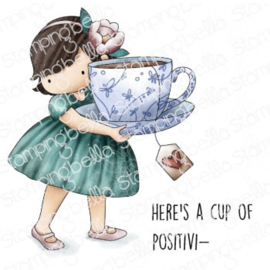 662021 Stamping Bella Cling Stamps Tiny Townie Loves Tea