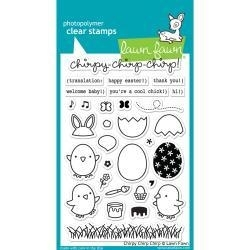LF1046s Lawn Fawn Clear Stamps Chirpy Chirp Chirp