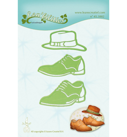 45.3882 LeCrea'Multi Die Cutting/Emb. Men shoes & hat