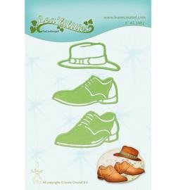 45.3882 LeCrea'Multi Die Cutting/Emb. Men shoes & hat