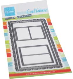 CR1563 Marianne Design craftables Slimline-mini Windows