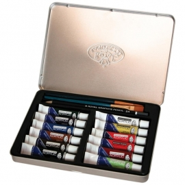 386412 Acrylic Painting Art Set W/Tin
