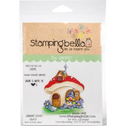 456575 Stamping Bella Cling Stamps Gnome Home