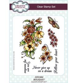CEC884 Creative Expressions Stempel Bouquet
