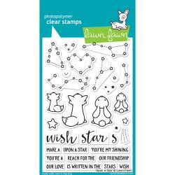 "LF1407 Lawn Fawn Clear Stamps Upon A Star 4""X6"""