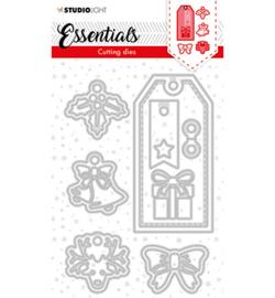 SL-ES-CD63 - SL Cutting Die Christmas Label Essentials nr.63